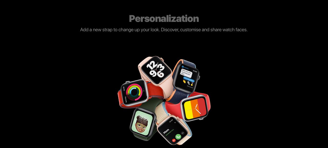 Personalisation content